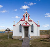 Italian Chapel, Orkney Royalty Free Stock Photo