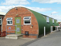 Nissen Hut. A surviving example of 1940s British Military Architecture Royalty Free Stock Photography