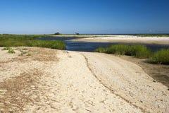 Nissequogue rzeką Zdjęcia Royalty Free