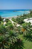 Nissi beach,ayia napa cyprus 2 Royalty Free Stock Photo