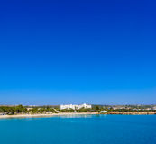 Nissi beach,ayia napa cyprus view 2 Stock Photography