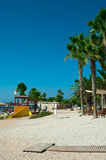 Nissi beach in Cyprus Royalty Free Stock Photo