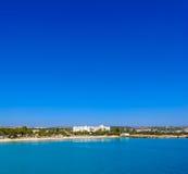 Nissi-Strand, Agia Napa Zypern Ansicht 2 Stockfotografie