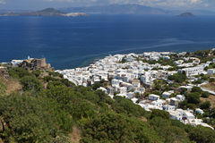 Nissyros island in Greece Royalty Free Stock Images