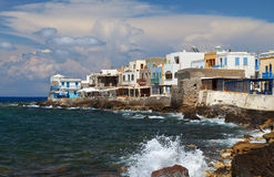 Nissyros island in Greece Royalty Free Stock Image