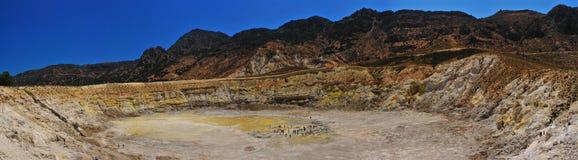 nisyros火山 库存图片