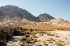 Nisyros-Inselvulkan Goodn-Zustand lizenzfreie stockbilder