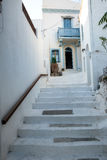 Nisyros  island's village  historical home and scale Royalty Free Stock Images