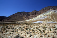 Nisyros volcanic valley, Greece Royalty Free Stock Photo