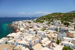 Nisyroseiland, Griekenland Stock Foto