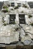 niszczy trzęsienie ziemi fotografia royalty free