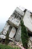 niszczy trzęsienie ziemi zdjęcia stock