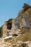 niszczy trzęsienie ziemi Obrazy Royalty Free