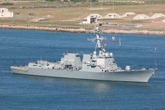 niszczyciel marynarka wojenna my zdjęcie royalty free