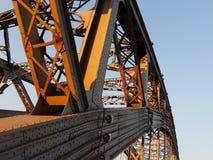 Nit stalowe budowy xix wiek most obrazy royalty free