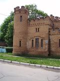 Family manor of the Popov nobility in the Taurida province now in the Zaporozhye region of Ukraine Royalty Free Stock Image