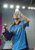 Nitchaon JINDAPOL de Tailândia Imagens de Stock Royalty Free