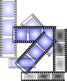 Nite de film Photographie stock libre de droits