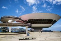 Niteroi Contemporary Art Museum, Brazil stock image