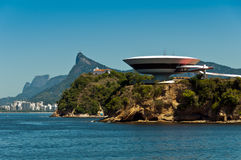 Niteroi Contemporary Art Museum Royalty Free Stock Photo