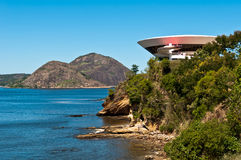 Niteroi Contemporary Art Museum Royalty Free Stock Images