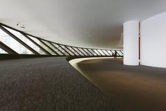 NITEROI CONTEMPORARY ART MUSEUM, RIO DE JANEIRO, BRAZIL - NOVEMB Royalty Free Stock Images