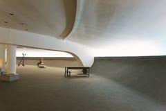 NITEROI dzisiejszej ustawy muzeum, RIO DE JANEIRO, BRAZYLIA - NOVEMB Obrazy Royalty Free