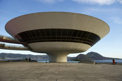 Niteroi Museum Rio de Janeiro Brazil Royalty Free Stock Photography