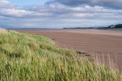 Nith出海口,苏格兰 免版税图库摄影
