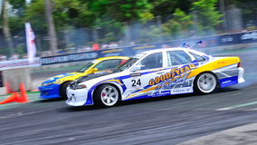 Nitipat Lam competing at Formula Drift Stock Image