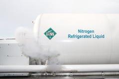 Nitrógeno líquido Imágenes de archivo libres de regalías