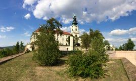 Nitra城堡 免版税图库摄影