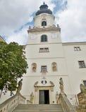 Замок Nitra - внутри замка Стоковое Фото