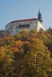 Nitra castle in autumn, Slovakia Royalty Free Stock Photography
