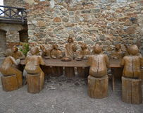 Nitra Castle - The Last Supper Royalty Free Stock Photography