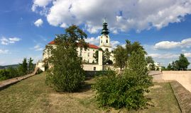 Nitra castle Royalty Free Stock Photography