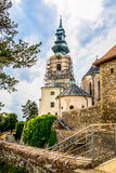 Nitra Castle under Reconstruction Royalty Free Stock Photography