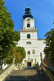 Nitra castle, Slovakia. Inside the castle. Nitra Castle is well preserved castle complex in Nitra.It located at an altitude of 220 m n. m., and generates royalty free stock images