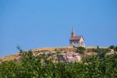 Nitra - Drazovce kyrklig michael st Royaltyfria Foton