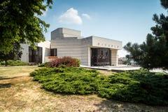 Nitra, Eslovaquia Edificio del teatro Imagenes de archivo