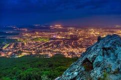 Nitra. Panorama from zobor nitra slovakia Royalty Free Stock Images