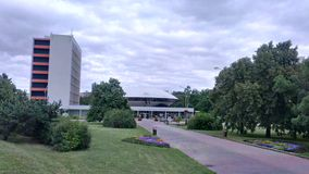 Nitra - Slovakien Arkivfoto