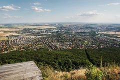 Nitrastad, Slowaakse republiek, stedelijke scène Stock Fotografie