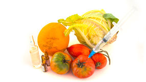 Nitrate im Gemüse Lizenzfreie Stockfotos