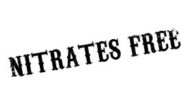 Nitrates Free rubber stamp Stock Photography
