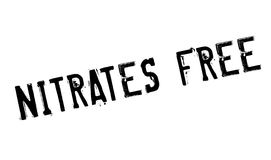 Nitrates Free rubber stamp Royalty Free Stock Images