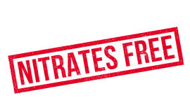 Nitrates Free rubber stamp Royalty Free Stock Photo