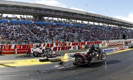 Nitro Harley Finals at the Strip In Las Vegas Royalty Free Stock Images