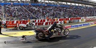 Nitro Harleys at the Las Vegas Strip royalty free stock images