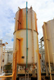 Nitrogen chemical plant Royalty Free Stock Photo